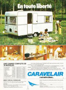 Caravelair annonse fra 1977.BL