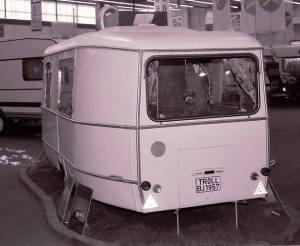 Den første Eriba Troll fra 1957. BL