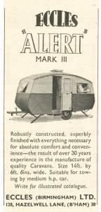 Eccles annonse fra 1952. BL