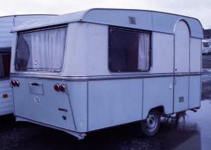 En av de første modellen fra Adria midt på 1960-tallet. BL