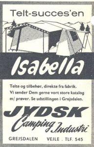 Isabella annonse fra 1961.BL
