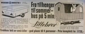 Lillebror annonse fra 1966. BL