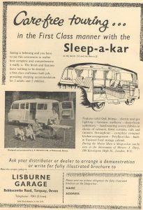 Lisburne annonse fra 1960. BL