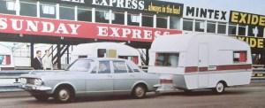 Lynton fra midt på 1960-tallet. Trekkbil er vel en Ford Zodiac. BL