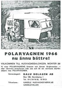 Polar annonse fra 1966. BL
