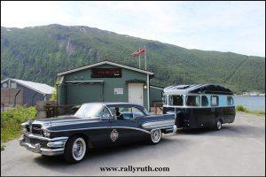 Rallyruth Abelsen 1958 Buick og 1970 Constructam Comet 5