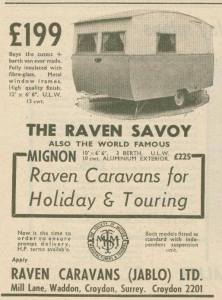 Raven annonse fra 1955.BL