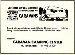 SMV Annonse fra 1977. BL