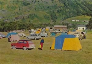 Saltvold Camping, Røldal. 60-tallet