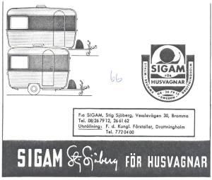 Solifer annonse fra 1966. BL
