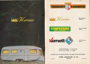 Tabbert annonse fra 1977. BL