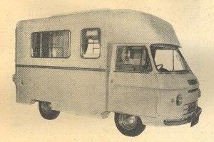 Utklipp av Bluebird Highwayman 1962. BL