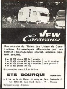 VFW annonse fra 1968. BL