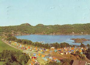lillesand-tingsaker-campingplass-med-telt-og-biler