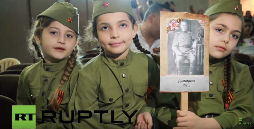 """Russia now """"owns"""" Victory Day with these immortal battalion marches which Putin kicked off by joining last year"""