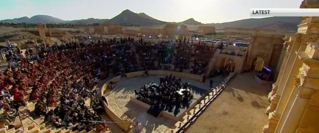 May we all be able to experience a concert at Palmyra someday