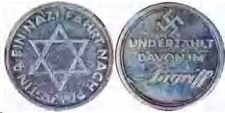 ZioNazi Medal? Zionist Star with Swastika on Opposite side