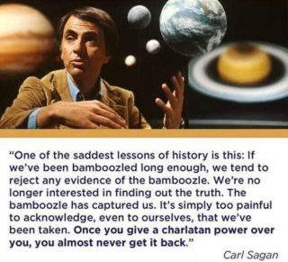 Belief Perserverance Carl Sagan