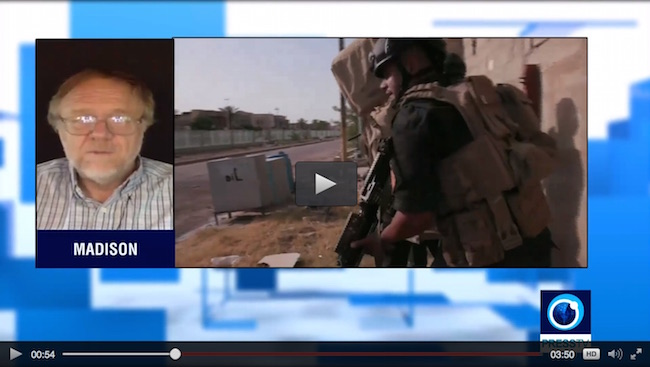 Watch the interview at Press TV
