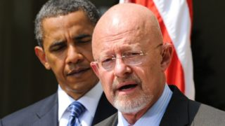Obama had to have backed Clapper on this, a slap down to the Democrat crazies