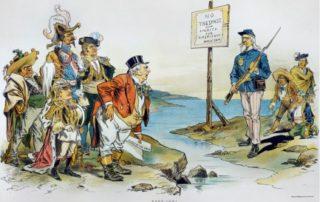 Doctrina Monroe se transformó en la región de Asia Pivote