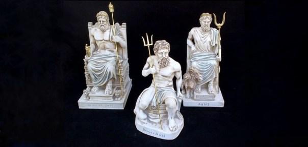 Zeus Poseidon Hades