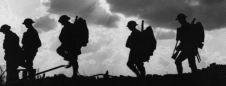 Image result for shadow of a ww2 soldier
