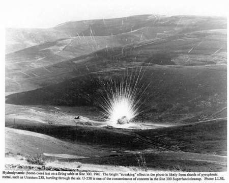 Detonation Firing Pad - Livermore California