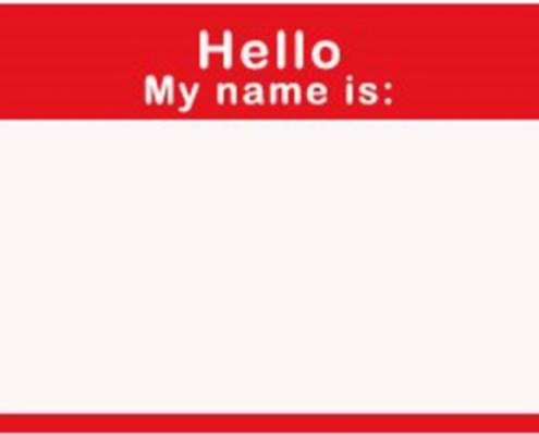 Networking Name Tag