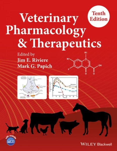 Veterinary Pharmacology And Therapeutics 10th Edition PDF