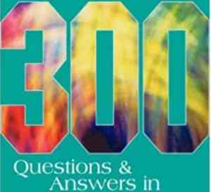 300 Questions And Answers In Medical And General Nursing For Veterinary Nurses PDF