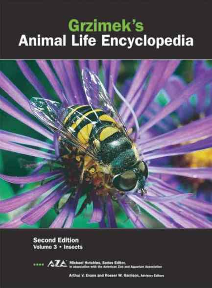 Grzimek's Animal Life Encyclopedia Second Edition Volume 3 Insects PDF