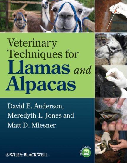 Veterinary Techniques For Llamas And Alpacas PDF