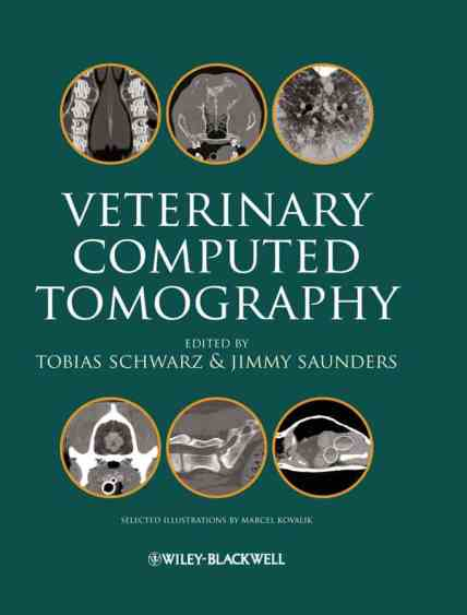 Veterinary Computed Tomography PDF Book Download