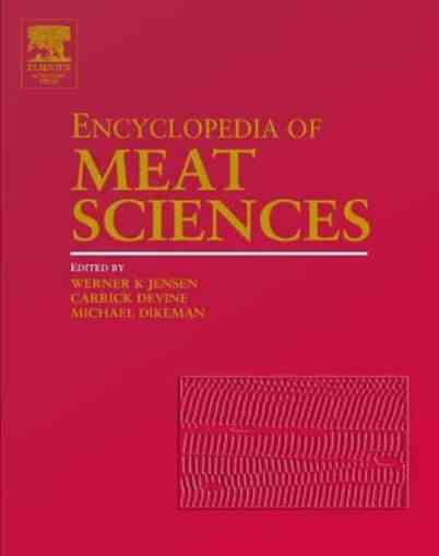 Encyclopedia Of Meat Sciences, Three Volume Set