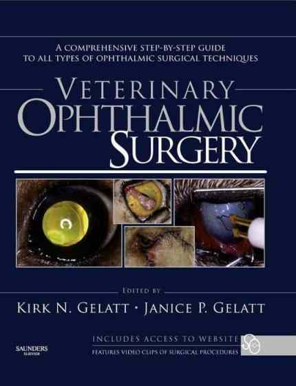 Veterinary Ophthalmic Surgery PDF