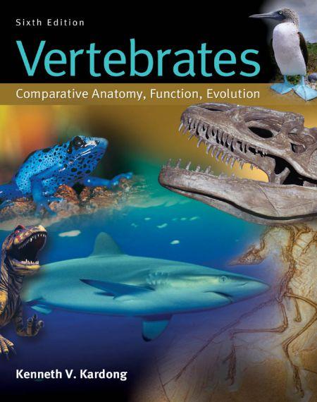 Vertebrates Comparative Anatomy Function Evolution 6e