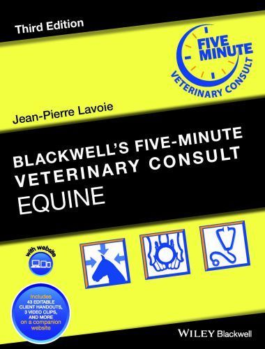Blackwell's Five-Minute Veterinary Consult – Equine, 3rd Edition