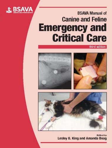 Manual Of Canine And Feline Emergency And Critical Care 3rd Edition
