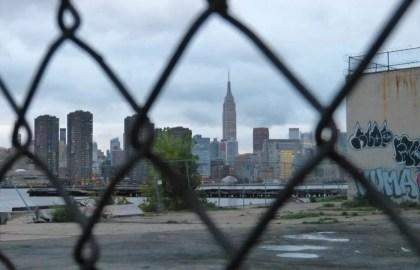 Skyline NYC vliegticket naar New York