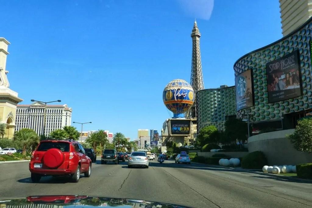 Roadtrippen met de Mustang: Las Vegas