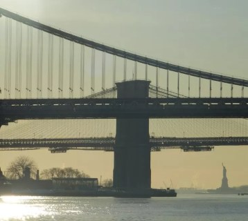 Brooklyn Bridge Manhattan Bridge New York