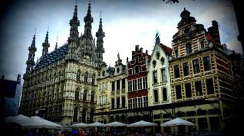 Stadhuis cafés in Leuven