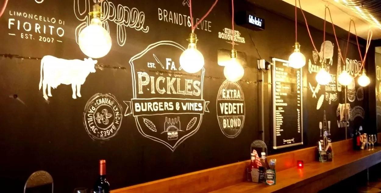 Hotspot: Firma Pickles Burgers & Wines in Utrecht