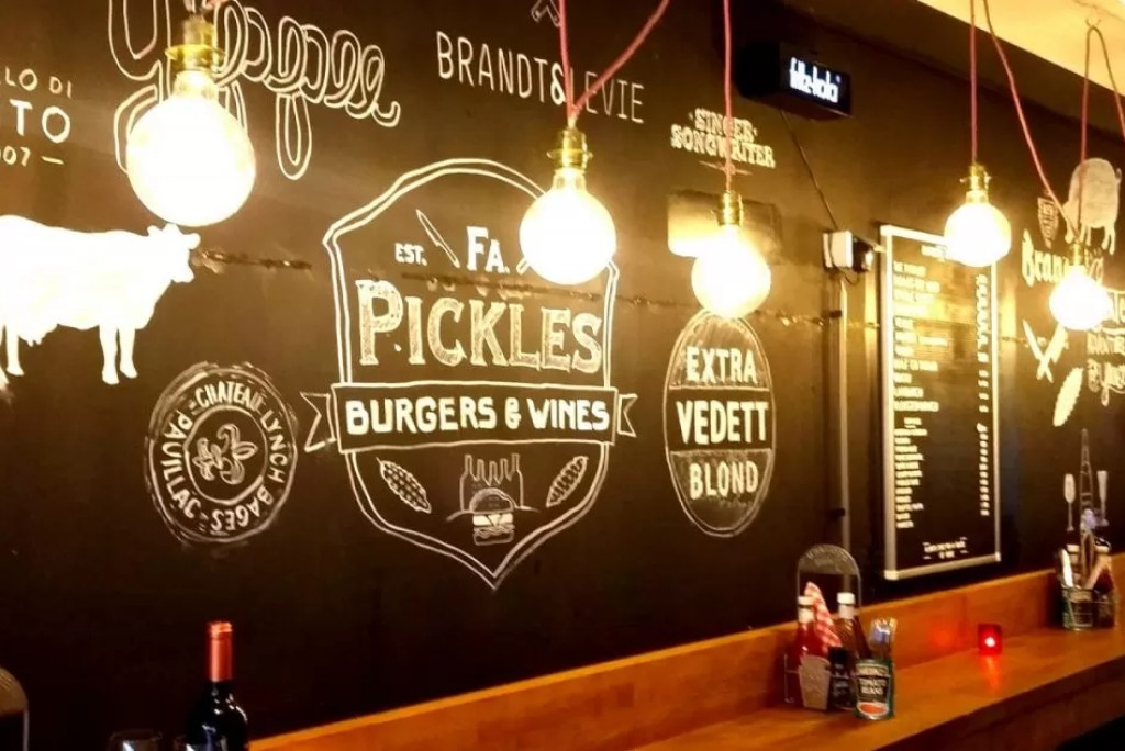 Hotspot: Firma Pickles Burgers & Wines in Utrecht