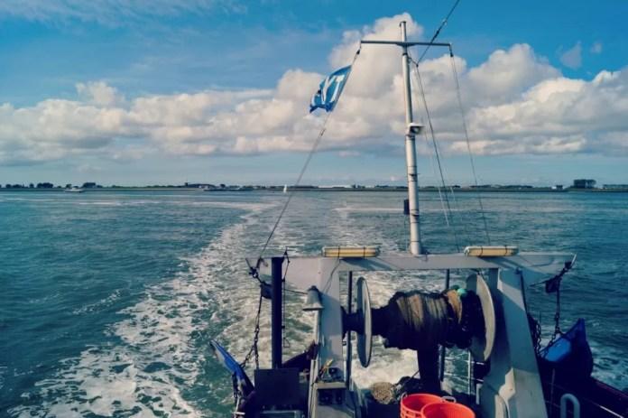 doen op texel vissersboot