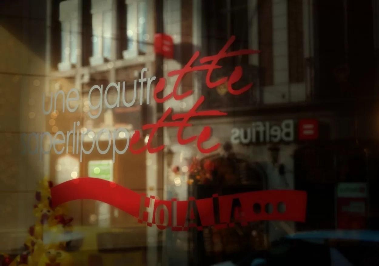 Hotspot: Une Gaufrette Saperlipopette in Luik