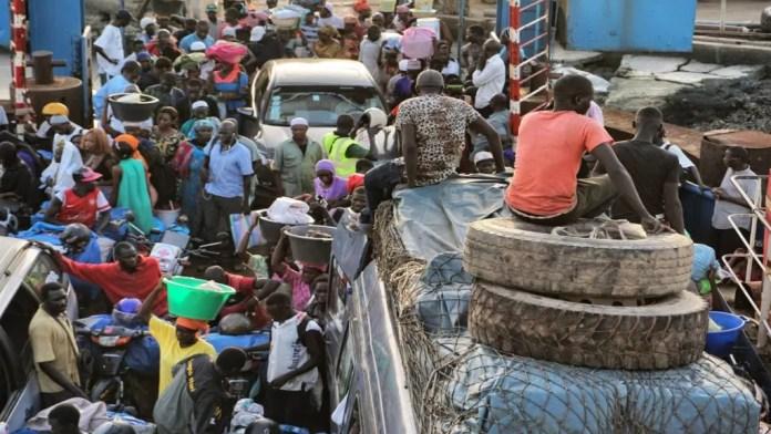 ferry banjul gambia