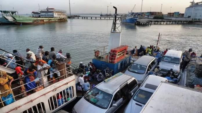 ferry barra gambia
