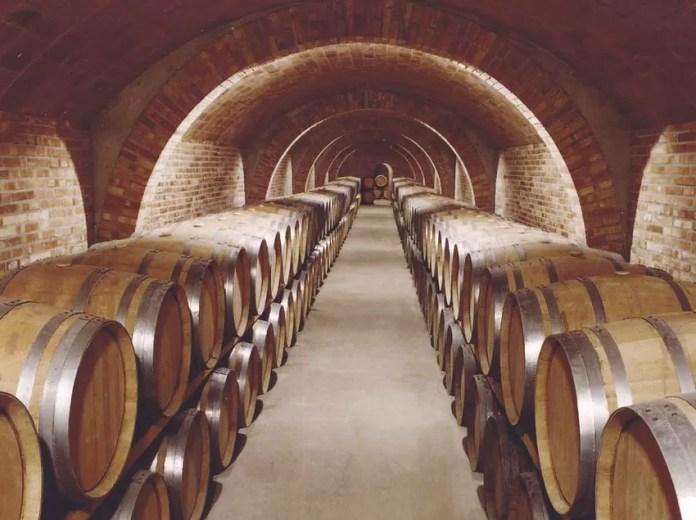 Interior de les caves Codorniu Catalan Tourist Board Consorci de Promoci Tur stica de l Alt Pened s